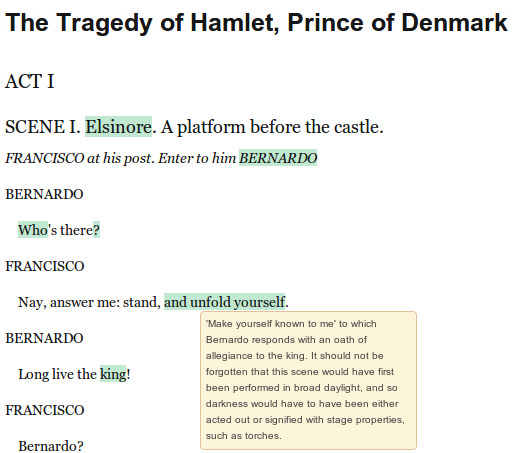 http://openshakespeare.org annotation